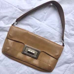 Vintage Chanel beige authentic purse